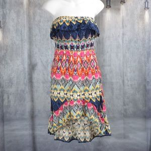 colorful sundress hi lo  small